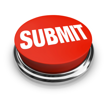 Submit Word on Round Red Button